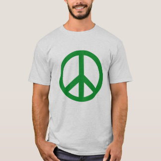 Green Peace Sign Products T-Shirt