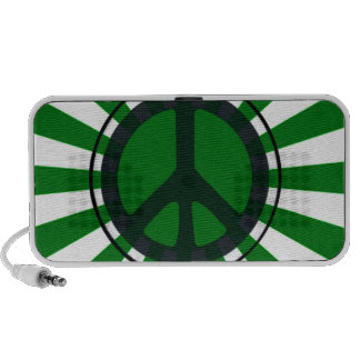 Green Peace Portable Speakers