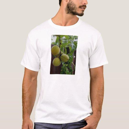 Green Peach Notecards T-Shirt