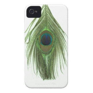 Green Peacock Feather Case-Mate iPhone 4 Case