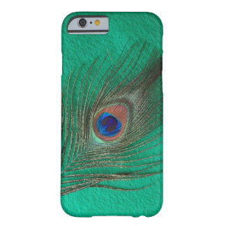 Green Peacock Feather iPhone 6 case