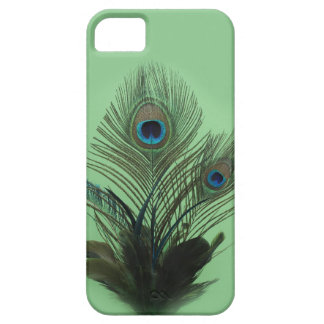Green Peacock Feathers iPhone 5 Barely There iPhone SE/5/5s Case
