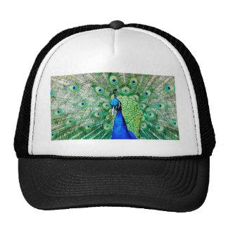 Green Peacock Trucker Hat