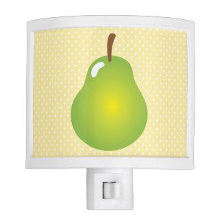 Green Pear Kitchen Night Light