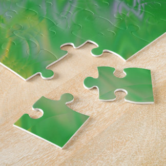 Green Pearl Water Jigsaw Puzzle
