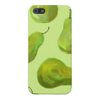 Green Pears Original Art iPhone 4 Case