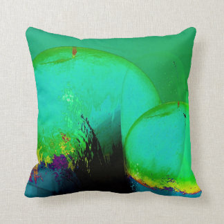 green pears throw pillow