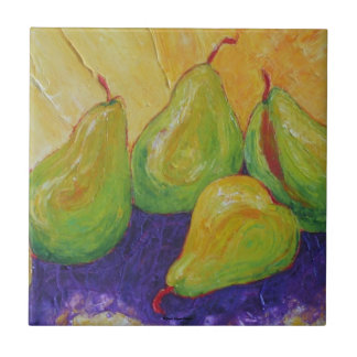 Green Pears Tile