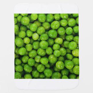 Green Peas Background Baby Blanket