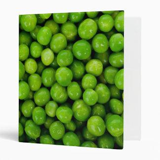 Green Peas Background Binder