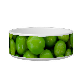 Green Peas Background Bowl