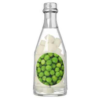 Green Peas Background Chewing Gum Favors