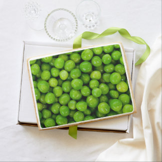 Green Peas Background Jumbo Cookie