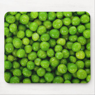 Green Peas Background Mouse Pad