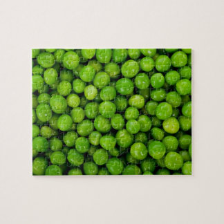 Green Peas Background Puzzle