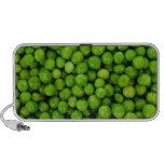 Green Peas Background Travel Speaker