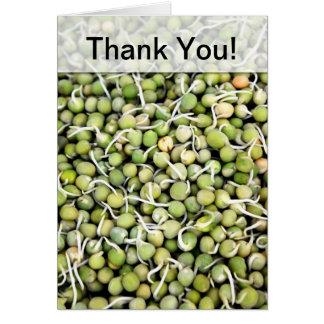 Green Peas Card