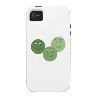 Green Peas Case-Mate iPhone 4 Cases