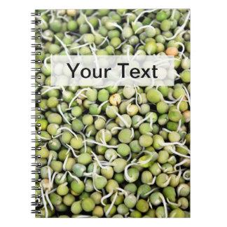 Green Peas Notebook