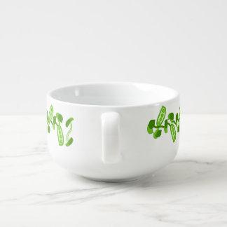 Green Peas Soup Mug