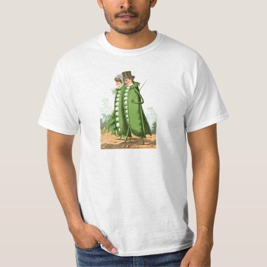 Green Peas Vintage Food Ad Art T-Shirt