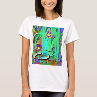 Green Peeling Wall Paper by Sharles T-Shirt