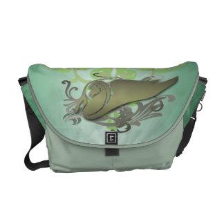 Green Pegasus Urban Messenger Bag