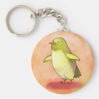 Green Penguin Keychain