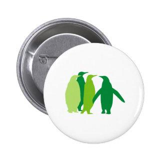 Green Penguins Pins