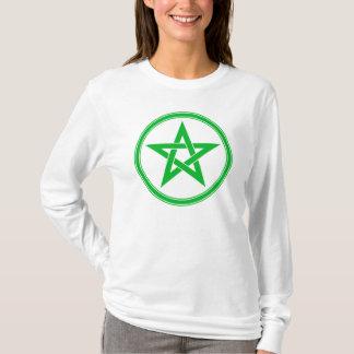 Green Pentacle Pentagram T-Shirt