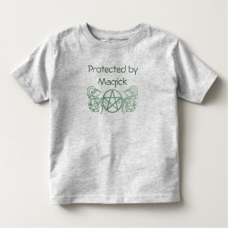 Green pentacle with flourishes toddler t-shirt