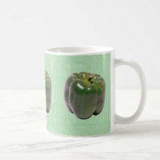 Green Pepper Design Mug