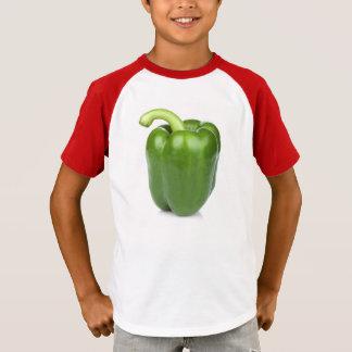 green pepper T-shirt boy