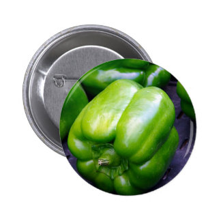 Green Peppers 2 Inch Round Button