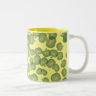 Green Peppers Design Mug