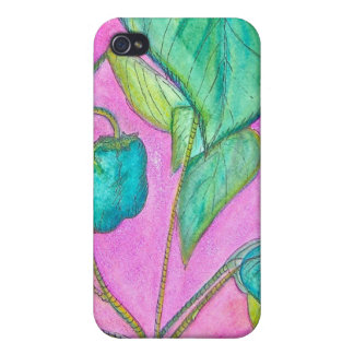 Green Peppers iPhone 4 Cover