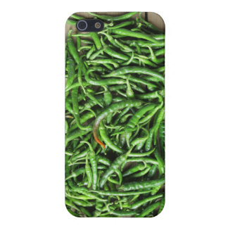 Green peppers iPhone SE/5/5s case