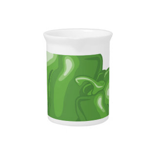 Green Peppers Pitcher