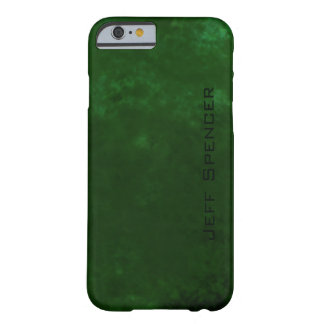 Green personalized barely there iPhone 6 case