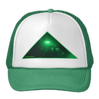 green pharaoh on green trucker hat