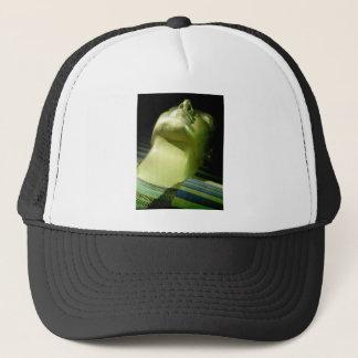 Green Pharoah By Bernadette Sebastiani Trucker Hat