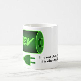Green PHEV Classic White Coffee Mug