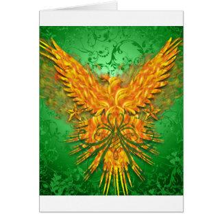Green Phoenix Card