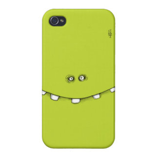 Green phone case for iPhone 4