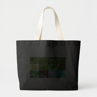 Green Photo Collage Bag
