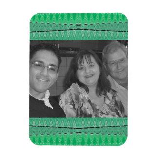 green photoframe magnet