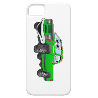 Green Pick Up Truck Cartoon iPhone SE/5/5s Case