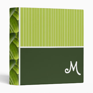 Green Pickles; Pickle Pattern 3 Ring Binder