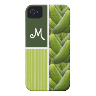 Green Pickles; Pickle Pattern Case-Mate iPhone 4 Cases