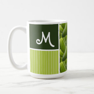 Green Pickles; Pickle Pattern Classic White Coffee Mug